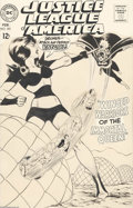 Original Comic Art:Covers, Murphy Anderson - Justice League of America #60 Cover Original Art(DC, 1968). Queen Bee returns to buzz the Justice League,...