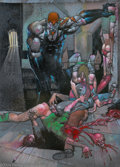 Original Comic Art:Splash Pages, Simon Bisley - Heavy Metal Original Art (Heavy Metal, circa 1999).When Simon Coldwater opens a can of whup-butt, it's a sup...