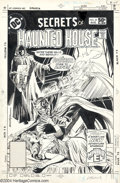 Original Comic Art:Covers, Rich Buckler and Dick Giordano - Secrets of Haunted House #39 CoverOriginal Art (DC, 1981)....