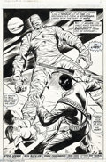 Original Comic Art:Panel Pages, Rich Buckler, Val Mayerik, and Frank Chiaramonte - Supernatural Thrillers #5 and 8, Group of 5 Pages Original Art (Marvel, 1973-... (5 items)