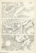 Original Comic Art:Panel Pages, John Byrne - Fantastic Four, page 2 Original Art (unpublished, circa 1974). John Byrne plotted the story and drew the ultra-...