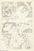 Original Comic Art:Panel Pages, John Byrne - Fantastic Four, page 3 Original Art (unpublished, circa 1974). The ever-lovin' Thing is amazed to find a Crysta...