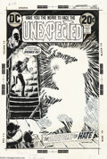 Original Comic Art:Covers, Nick Cardy - Original Cover Art for The Unexpected #140 (DC, 1972).In the 1970s, Nick Cardy supplied DC with most of their ...