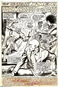 Original Comic Art:Splash Pages, Dave Cockrum, Bob Brown, and Tom Sutton - X-Men #106, page 1Original Art (Marvel, 1977). From the penultimate issue of Dave...