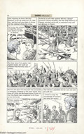 "Original Comic Art:Panel Pages, Reed Crandall - Classics Illustrated #168 ""In Freedom's Cause,""pages 24-26 Original Art (Gilberton, 1969). Reed Crandall de..."