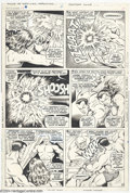 Original Comic Art:Panel Pages, Bill Everett - Tales to Astonish #94, page 10 Original Art (Marvel,1967). Dorma and Prince Namor stand all but defeated at ...