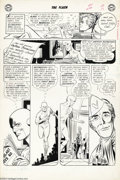 Original Comic Art:Panel Pages, Carmine Infantino and Joe Giella - The Flash #124, page 2 OriginalArt (DC, 1961). Pen-pal Flash writes Ralph Dibny -- aka t...