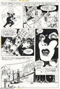 Original Comic Art:Panel Pages, Michael W. Kaluta - The Shadow #2, page 5 Original Art (DC, 1973).Michael Kaluta was born to draw the Shadow comic book...