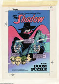 Original Comic Art:Miscellaneous, Michael Kaluta - Private Files of the Shadow Hand-Painted ColorGuides (1989). This lot includes the hand-painted color guid...