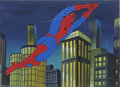 Original Comic Art:Miscellaneous, Marvel Productions, Ltd. - Spider-Man and His Amazing FriendsOriginal Animation Art (Marvel, 1981). A nifty animation cel o...