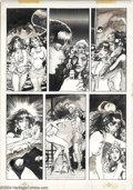 """Original Comic Art:Panel Pages, Gonzalo Mayo - Original Art for Vampirella #112, Page 52 (Warren,1983). The Warren Companion states, """"This issue of V..."""