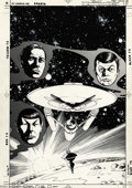 Original Comic Art:Covers, David Ross and Bob Smith - Star Trek Annual #1 Cover and Group of11 pages Original Art (DC, 1985). Set in the early days of...