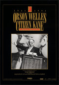 """Movie Posters:Drama, Citizen Kane (Turner, R-1991). Rolled, Very Fine. 50th Anniversary One Sheet (27"""" X 39.25"""") SS, With Certificate of Authenti..."""