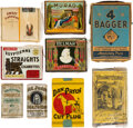 Baseball Cards:Lots, 1880's - 1940's Tobacco Packs & Pouches Collection (9). ...