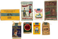 Baseball Cards:Lots, 1890's - 1980's Tobacco Packs & Pouches Collection (27). ...