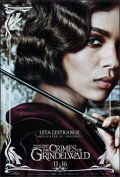 """Movie Posters:Fantasy, Fantastic Beasts: The Crimes of Grindelwald (Warner Bros., 2018). Rolled, Very Fine+. One Sheets (2) (27"""" X 40"""") SS Advance,... (Total: 2 Items)"""
