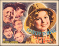 """Movie Posters:Musical, Captain January (20th Century Fox, 1936). Folded, Fine+. Half Sheet (22"""" X 28"""") Style A. Musical.. ..."""