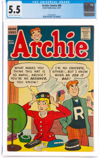 Archie Comics #86 (Archie, 1957) CGC FN- 5.5 Off-white to white pages
