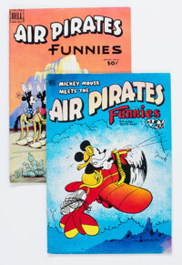 Air Pirates Funnies #1 and 2 Group (Hell Comics Group, 1971) Condition: Average VG/FN.... (Total: 2 )