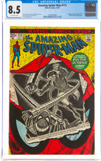 The Amazing Spider-Man #113 (Marvel, 1972) CGC VF+ 8.5 Off-white pages