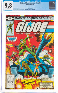 G. I. Joe, A Real American Hero #1 (Marvel, 1982) CGC NM/MT 9.8 White pages