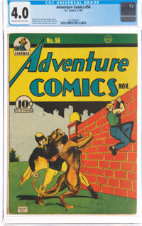 Adventure Comics #56 (DC, 1940) CGC VG 4.0 Cream to off-white pages