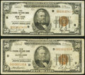 Small Size:Federal Reserve Bank Notes, Fr. 1880-B; D $50 1929 Federal Reserve Bank Notes. Fine or Better.. ... (Total: 2 notes)