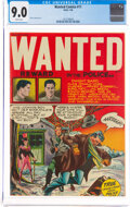 Golden Age (1938-1955):Crime, Wanted Comics #11 (Orbit, 1948) CGC VF/NM 9.0 White pages....