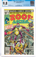 Bronze Age (1970-1979):Science Fiction, 2001: A Space Odyssey #8 (Marvel, 1977) CGC NM/MT 9.8 White pages....