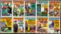 """Non-Sport Cards:Sets, 1961 Topps """"Crazy Cards"""" High Grade Complete Set (66). ..."""