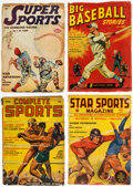 Pulps:Miscellaneous, Assorted Sports Pulps Group of 76 (Various, 1930s-40s) Condition: Average GD/VG.... (Total: 76 Items)