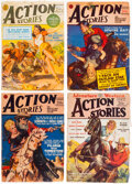 Pulps:Adventure, Action Stories Group of 11 (Fiction House, 1926-50) Condition: Average GD/VG.... (Total: 11 Items)