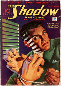 The Shadow - March 1, 1935 (Street & Smith) Condition: FN-