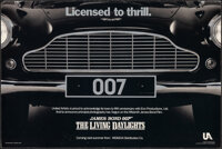 """The Living Daylights (MGM/UA, 1986). Rolled, Fine on Foamcore. Special Teaser Mini Poster (17.5"""" X 11.75"""") Adv..."""