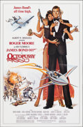 "Movie Posters:James Bond, Octopussy (MGM/UA, 1983). Rolled, Very Fine+. One Sheet (27"" X 41"") Dan Goozee Artwork. James Bond.. ..."