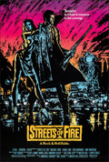 """Movie Posters:Action, Streets of Fire (Universal, 1984). Rolled, Overall: Very Fine. One Sheets (3) (27"""" X 40"""" & 27"""" X 41"""") Regular & 2 Advance St... (Total: 3 Items)"""