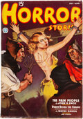 Pulps:Horror, Horror Stories - February/March 1937 (Popular) Condition: FN+....