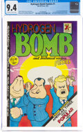 Hydrogen Bomb Funnies #nn (Rip Off Press, 1970) CGC NM 9.4 Off-white to white pages