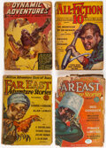 Pulps:Adventure, Assorted Adventure Pulps Group of 4 (Various, 1930-36) Condition: Average FR/GD.... (Total: 4 Items)
