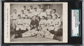 Baseball Collectibles:Others, Circa 1900 Bachrach & Bro. Baltimore Orioles Postcard SGC 40 VG 3. ...
