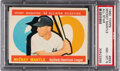 Baseball Cards:Singles (1960-1969), 1960 Topps Mickey Mantle (All Star) #563 PSA NM-MT 8....