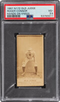 Baseball Cards:Singles (Pre-1930), 1887-90 N172 Old Judge Roger Connor (#88-1) PSA VG+ 3.5....