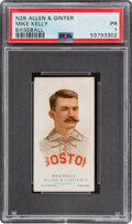 Baseball Cards:Singles (Pre-1930), 1887 N28 Allen & Ginter King Kelly PSA Poor 1. ...