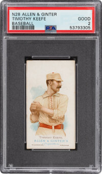 1887 N28 Allen & Ginter Timothy Keefe PSA Good 2