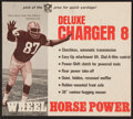 Football Collectibles:Publications, 1960's Willie Davis Green Bay Packers Cardboard Advertisement....