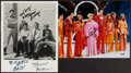 """Autographs:Photos, Classic TV Shows Signed 8x10"""" Photographs, Lot of 2 - Brady Bunch & Andy Griffith Show!... (Total: 2 items)"""
