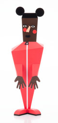Collectible, Nina Chanel Abney (b. 1982). Baby, 2020. Painted cast vinyl. 10-1/4 x 3 x 3 inches (26 x 7.6 x 7.6 cm). Stamped to the u...