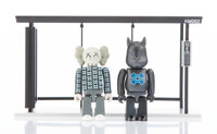 KAWS X Kubrick Bus Stop, Series 2, 2002 Painted cast resin 2-3/4 x 1-3/8 x 3/4 inches (7 x 3.4 x