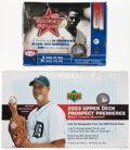 Baseball Cards:Unopened Packs/Display Boxes, 2002 Leaf Rookies & Stars and 2003 UD Prospect Premieres Baseball Unopened Box Pair (2)....