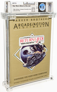 Star Wars: Return of the Jedi - Wata 9.2 A++ Sealed [1983 Gold box], 400/800 Parker Brothers 1983 USA